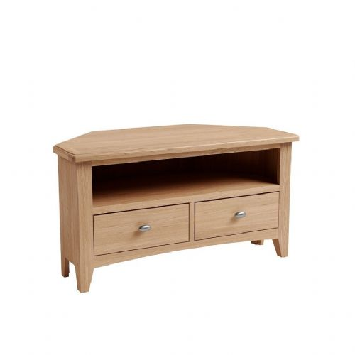 Gailey Oak Corner TV Unit